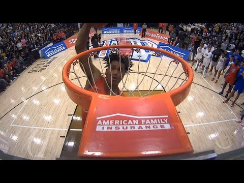 2019 American Family Insurance High School Slam Dunk & 3-point Championships | @AmFam®