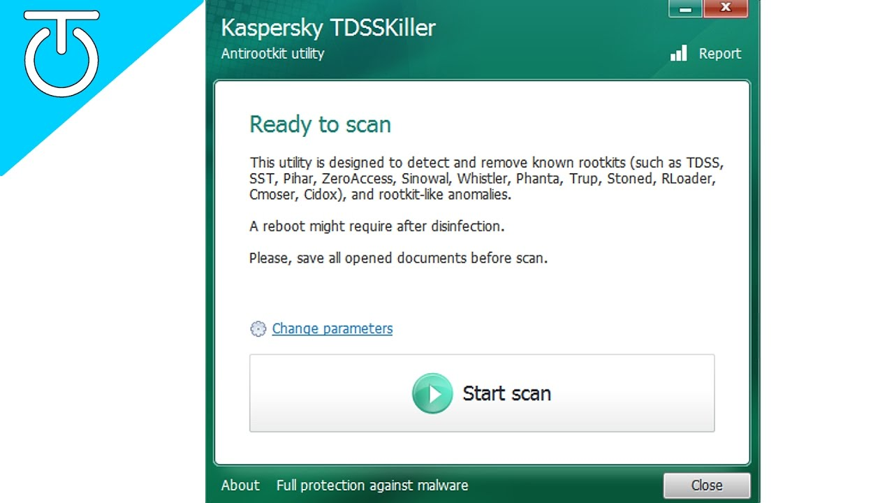TDSSKiller Rootkit Removal by Kaspersky Labs - YouTube