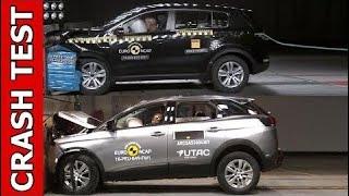 Top Cars:  [CRASH TEST] 2017 Peugeot 3008 vs 2017 Kia Sportage