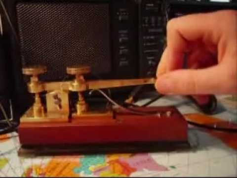 Telegraphy free lesson clip by iz5ovp