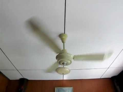 56'' LUCKY ceiling fan [Aluminum blades.] พัดลมเพดาน ลัคกี้ 56 นิ้ว รุ่นเก่า