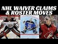 Ducks Claim Johnson on Waivers + NHL Injury Updates