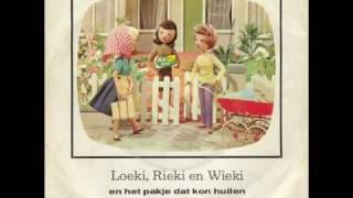 Loekie Riekie en Wiekie en het pakje dat kon huilen