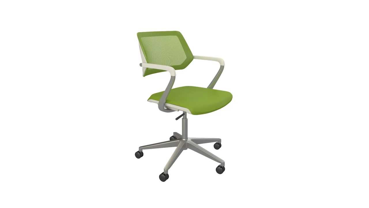 QiVi Collaborative Seating Technical Animation - Steelcase - YouTube