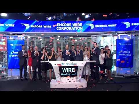 Encore Wire 2017 Nasdaq Opening Bell
