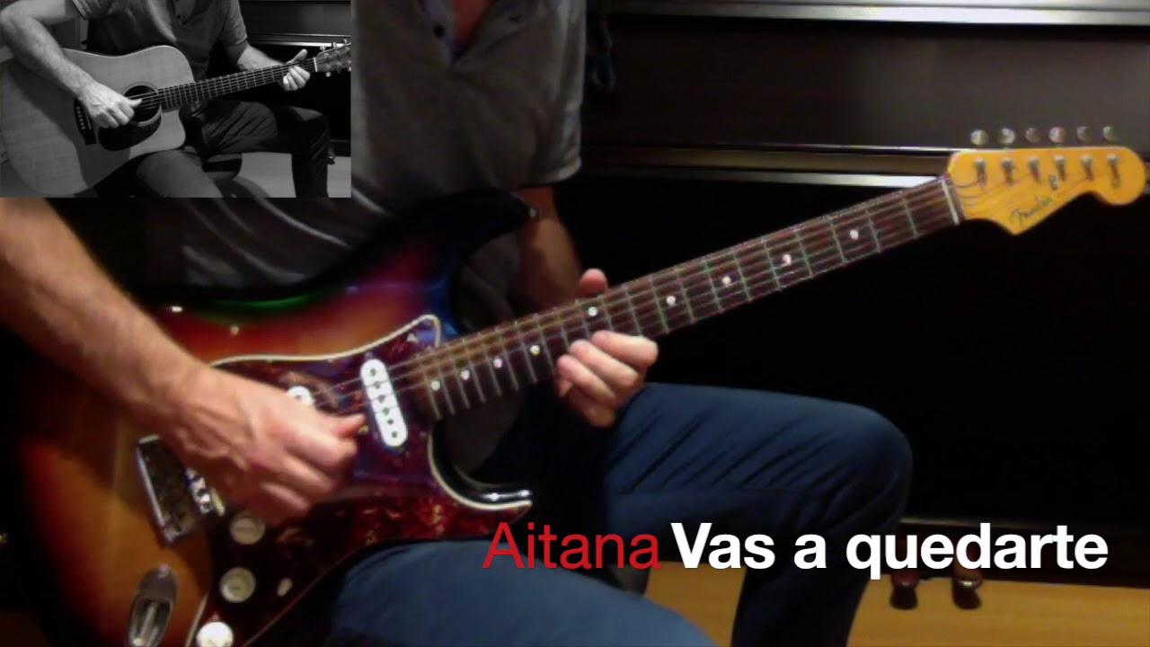 Vas A Quedarte Acordes Y Letra Para Guitarra Ukulele Bajo Y Piano Aitana Ocana