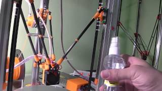 Kossel Mini 3D Printer วิธีการพิมพ์งาน จาก SD Card