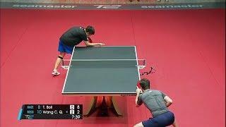 Timo Boll vs Wang Chuqin (2017 T2APAC)