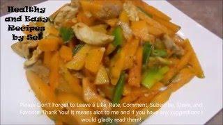 Stir Fry Pumpkin with Pork Recipe