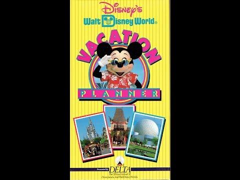 1993 Walt Disney World Vacation Planning Video - InteractiveWDW