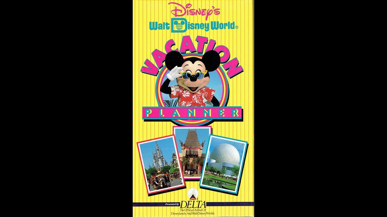 1993 Walt Disney World Vacation Planning Video Interactivewdw