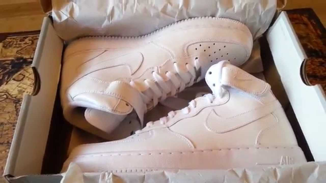 ... NIKE AIR FORCE 1 MID REVIEW + ON FEET - YouTube Supreme x ... 52c863fe3