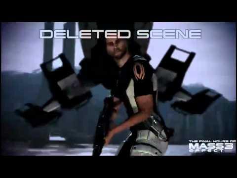 Mass Effect 3: Deleted Scene 4 - Upwards Gun Fail (Spoilers)
