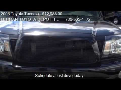 2005 toyota tacoma x runner for sale in miami fl 33169 youtube. Black Bedroom Furniture Sets. Home Design Ideas