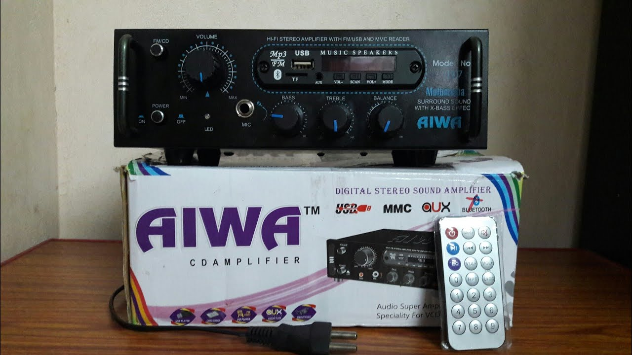 AIWA™ Amplifier Rs 1,000 Only with Bluetooth+ mic+balance