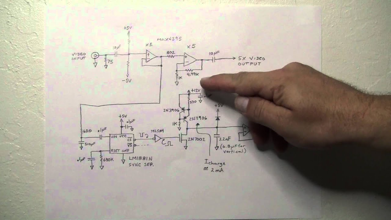 Tiny Tv Circuit Theory Of Operation