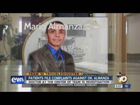Patients file complaints against Dr. Almanza