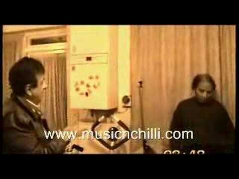 Robin Ghosh and Akhlaq Ahmad with Ricky Farooqi