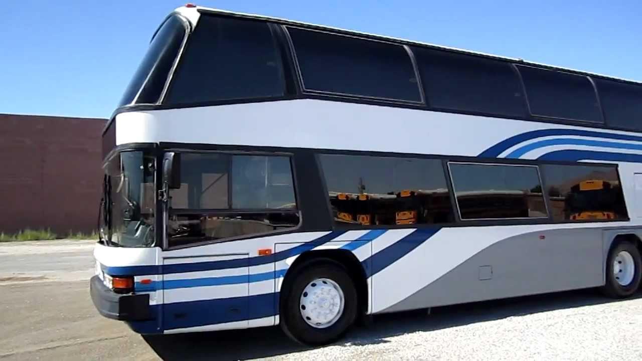 double decker bus, neoplan double decker MOV