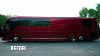 De nieuwe tourbus van Busta Rymes  Unique Rides With Will Castro