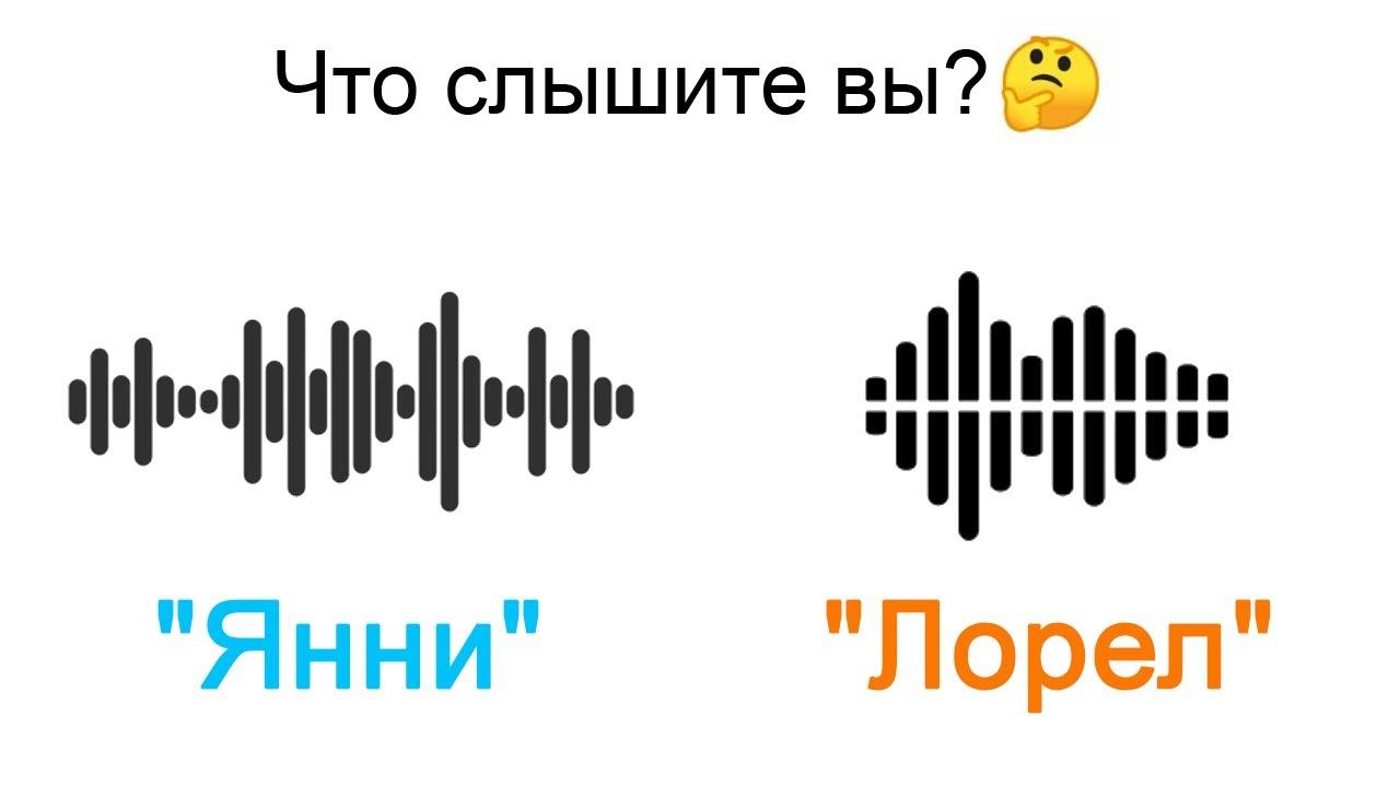 Что слышите вы — Янни или Лорел?