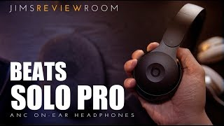 Beats Solo PRO ANC Active Noise Cancelling HEADPHONE - REVIEW