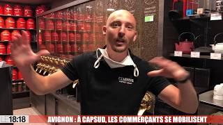 A Avignon, les commerçants de Cap Sud font face