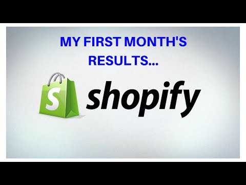 My results with Shopify in 1 month! THE REAL TRUTH!!! thumbnail