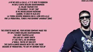 Anuel AA Narcos English Lyrics/Translation