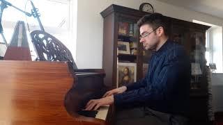 Haydn: Piano Sonata in Eb Major (Hob XVI:52) I. Allegro (Sean Whytock, 06/04/2020)
