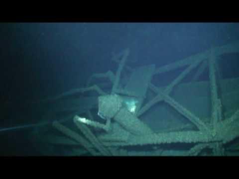 Carl D. Bradley shipwreck, hull break area, August 2009