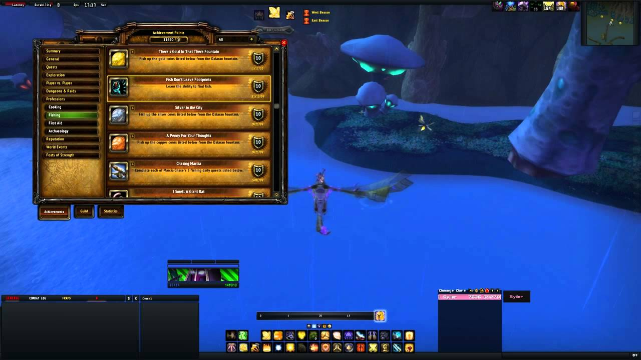 Find fish fish don 39 t leave foot prints guide wow salty for Wow fishing guide