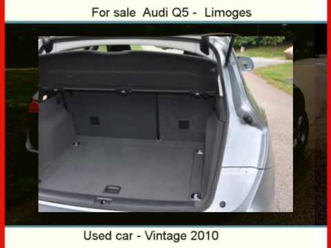 sale one audi q5 limoges haute vienne youtube. Black Bedroom Furniture Sets. Home Design Ideas