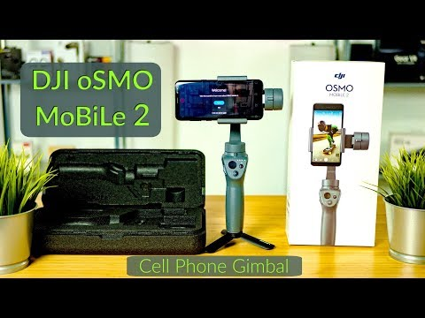 DJI OSMO MOBILE 2 / Hands-On / Phone Gimbal Unboxing, Sizing, Setup, Balancing & Demonstration 4k