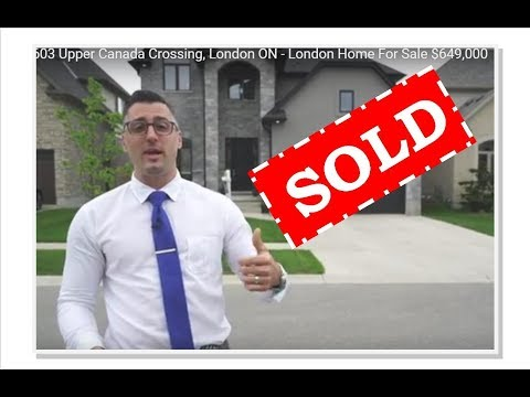 SOLD. 6603 Upper Canada Crossing, London ON - London Home For Sale $649,000