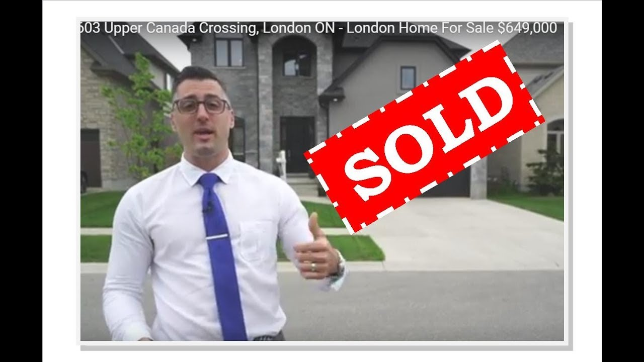 Sold 6603 Upper Canada Crossing London On London Home For Sale