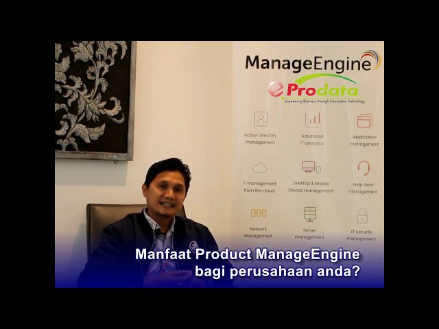 Testimonial Maybank Indonesia tentang ManageEngine & Prodata Sistem Teknologi