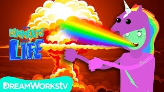 Unicorn Zombie Apocalypse! | YOUR COMMENTS COME TO LIFE