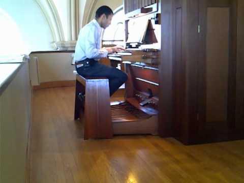 Bach-Vivaldi, slow movement for organ