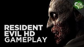 10 MINUTES of Resident Evil HD 1080p Gameplay! Updated Graphics, New Controls and More