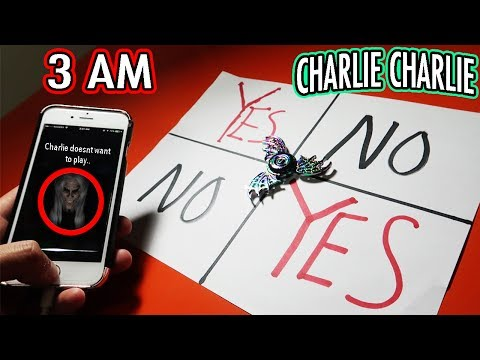 (SIRI STARTED TALKING?!) DONT PLAY CHARLIE CHARLIE GAME WITH A FIDGET SPINNER AT 3 AM | SIRI SPEAKS!