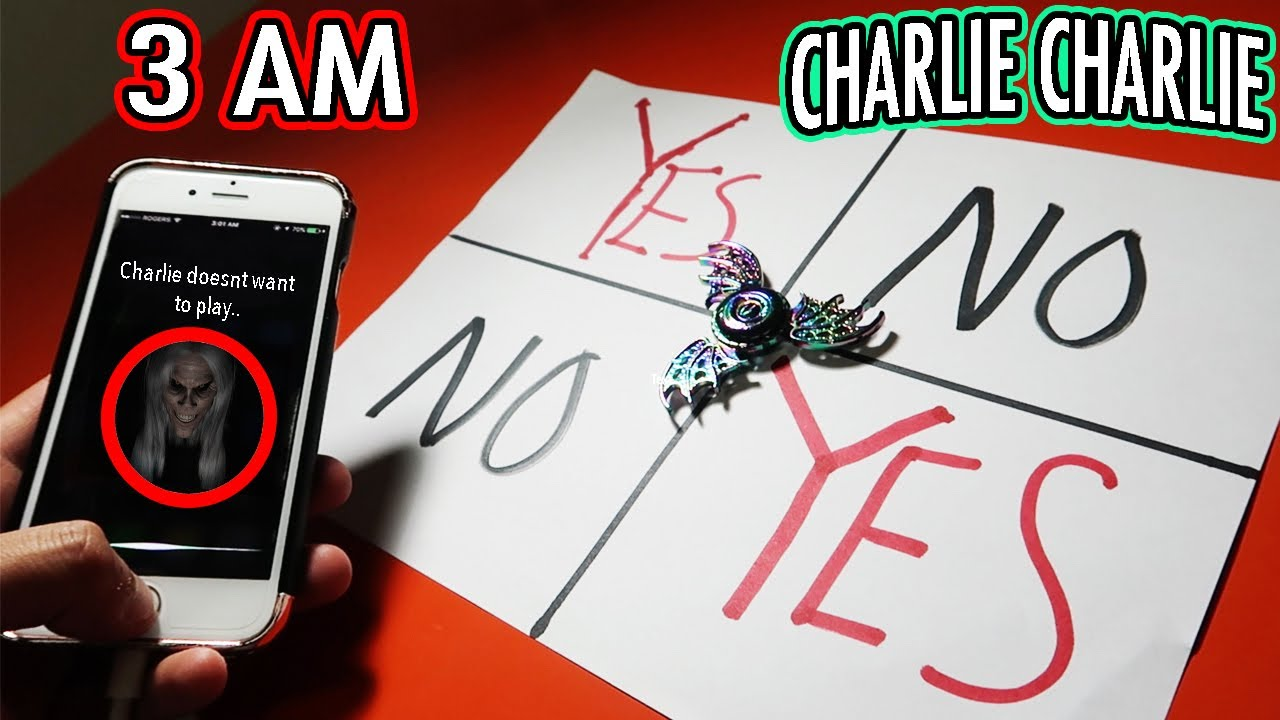 siri started talking dont play charlie charlie game with a fidget