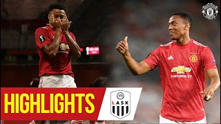 Highlights | Lingard & Martial confirm Europa League Quarter Final  | Manchester United 2-1 LASK