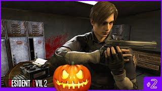 RE2 On Halloween! [Walkthrough]