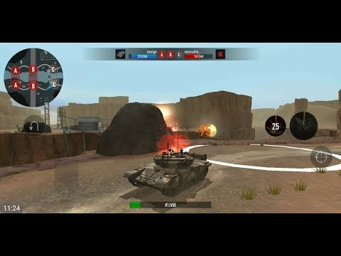WAR Of TANKS: PvP Blitz (by Azur Interactive Games Limited) - Action Game For Android - Gameplay.