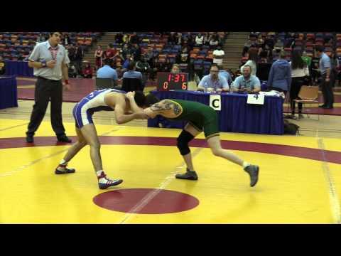 2014 Dino Invitational: 54 kg Connor McLachlan vs. Eric Robertson