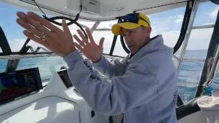 short fishing tip from lee rayner looking for snapper using simrad sounder