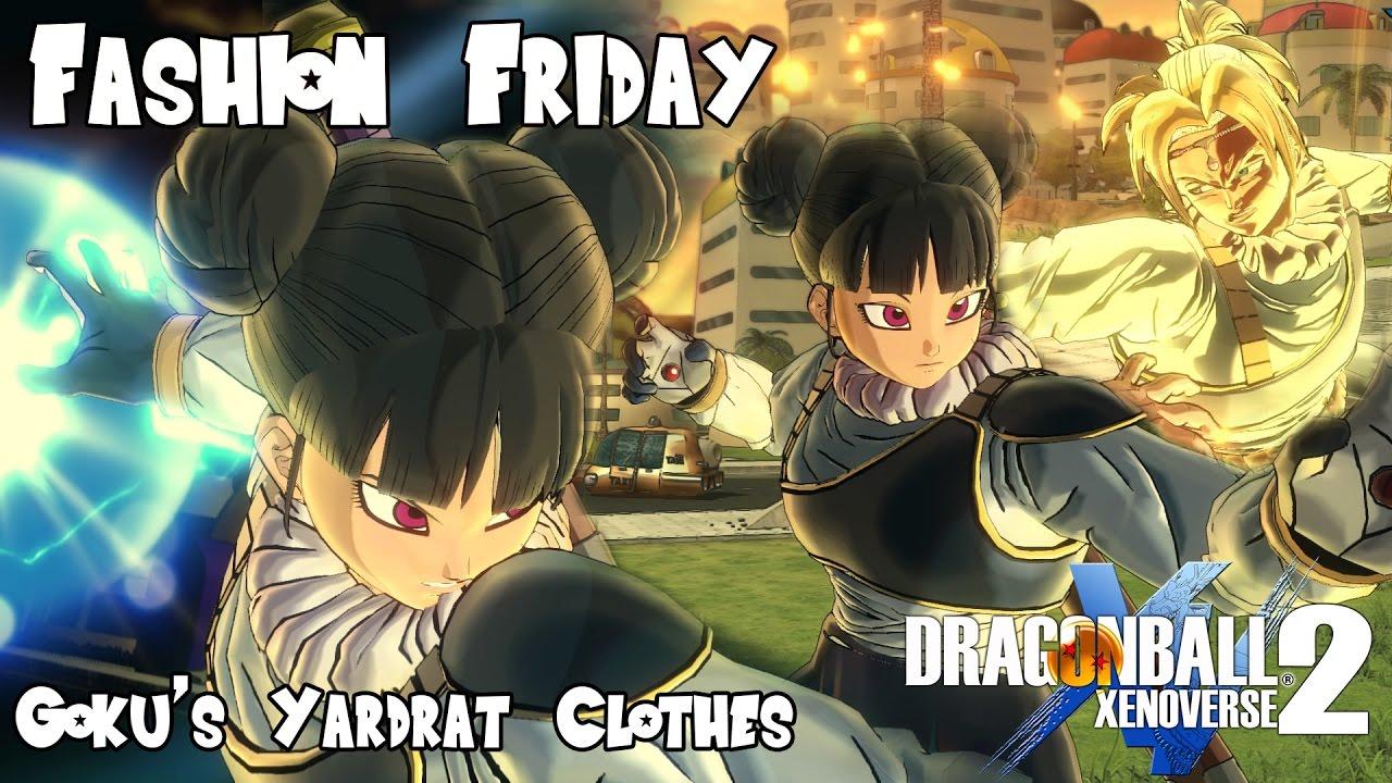 Fashion Friday Goku S Yardrat Clothes Dragon Ball Xenoverse 2 Youtube