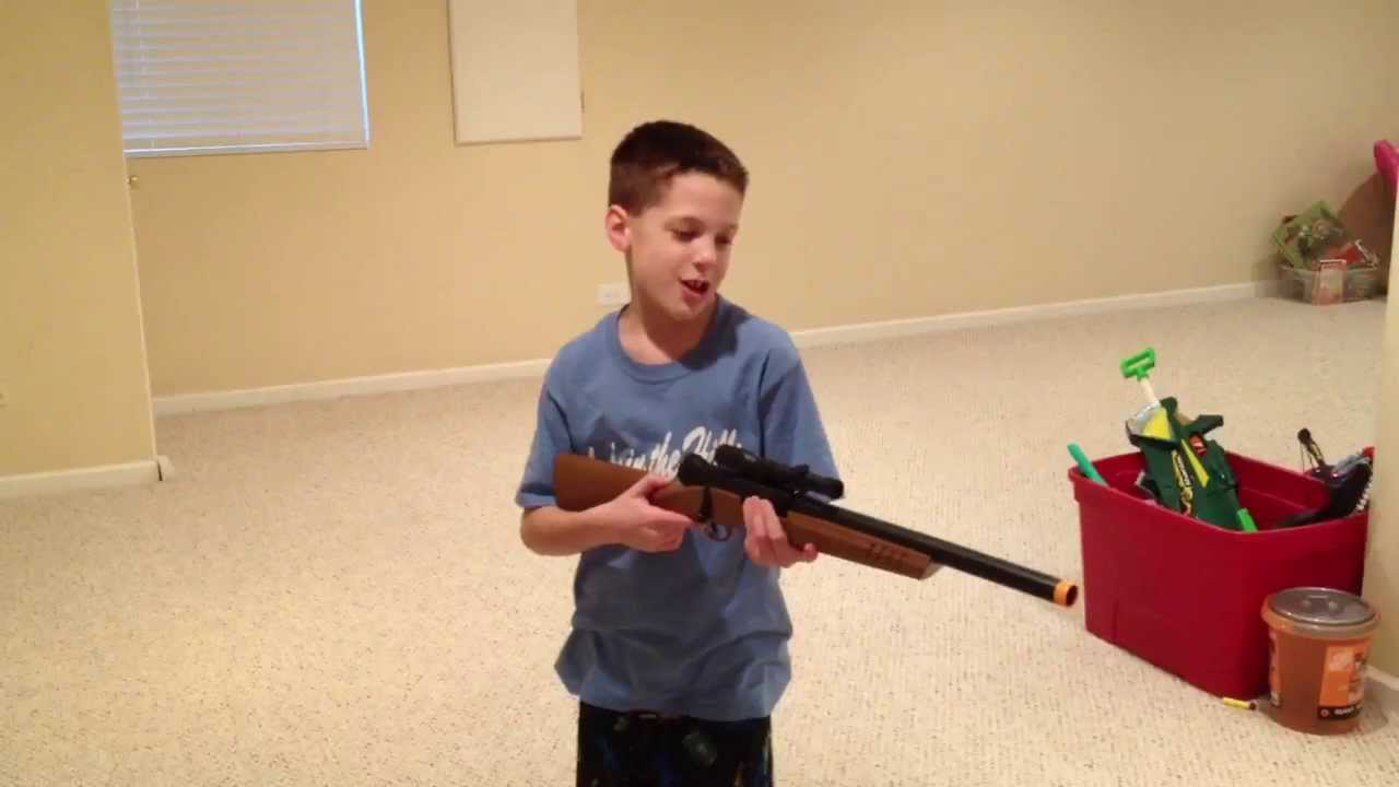 Toys From Cabela S : Cabela s foam dart rifle fail youtube