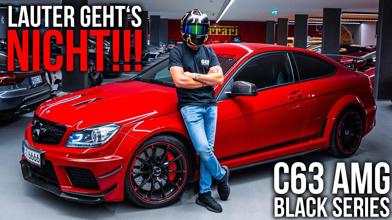 Download C63 AMG Black Series | Lauter geht's nicht!! | iPE Abgasanlage | GERCollector